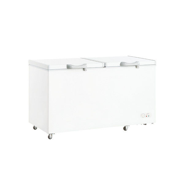 Manual Defrost Commercial Refrigerator, Deep Freezer 628L Capacity With Handle And Lock