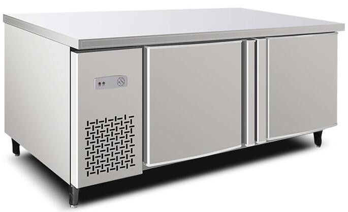 Stainless Steel Commercial Kitchen Workbench Refrigerator 280L Capacity With Digital Temperature Control