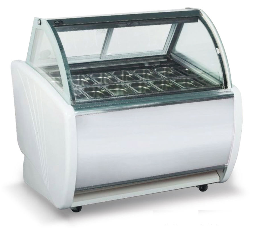 1200mm Commercial Display Fridges LED Lights For Making The Showcase Luxurious