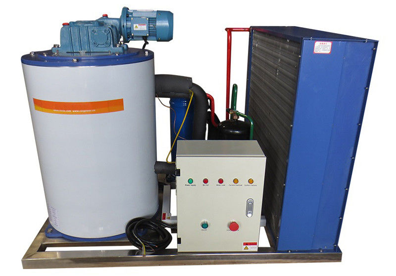 4000kg / 24h Saving - Energy  Flake Ice Maker With Copeland Compressor